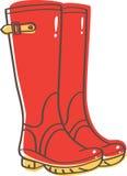 Wellington Boots illustrazione vettoriale