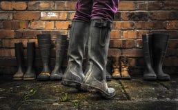 Wellington Boots Stockbilder