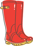 Wellington boots Royalty Free Stock Image