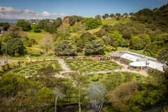 Wellington Botanic Gardens Foto de Stock Royalty Free