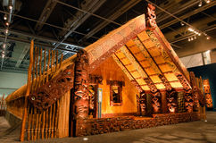 Maori Marae Royalty-vrije Stock Afbeeldingen