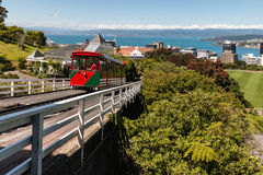 Wellington Cable Car Stock Photo