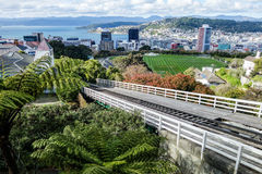 Wellington Cable Car Line Stock Images