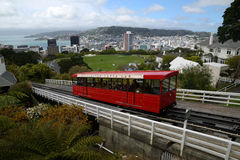 Wellington cable car Royalty Free Stock Photo
