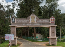 Wellington Cantonment main gate. Stock Images