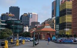 Wellington central Imagem de Stock