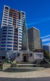 Wellington city. New Zealand`s second largest city is also the capital Stock Photos