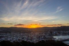 Wellington city stock photos