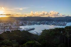 Wellington city royalty free stock photography