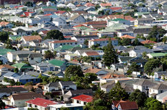 Wellington Cityscape imagens de stock royalty free