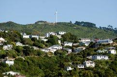 Wellington Cityscape foto de stock royalty free