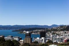 Wellington Cityscape Royaltyfri Bild