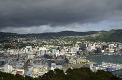 Wellington cityscape, NZ Royalty Free Stock Images