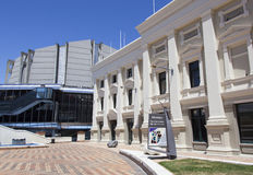 Wellington Civic Square imagem de stock