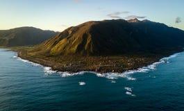 Wellington Coast, Wainuiomata Em algum lugar em Nova Zelândia Imagem de Stock Royalty Free