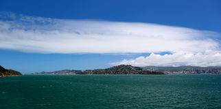 Wellington Coastline Royalty Free Stock Photography
