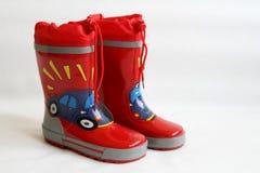 Wellington czerwone buty Obraz Royalty Free