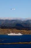 Transporte del International de Wellington Imagenes de archivo