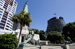 El parlamento de Nueva Zelanda Foto de archivo libre de regalías