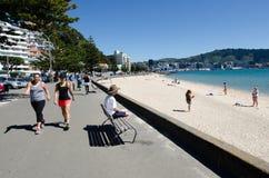 Arquitectura da cidade de Wellington foto de stock royalty free