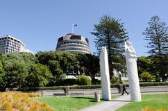 O parlamento de Nova Zelândia Foto de Stock