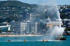 Arquitectura da cidade de Wellington foto de stock