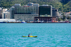 Arquitectura da cidade de Wellington fotos de stock