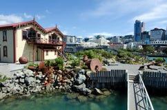 Lagoa do beira-rio de Wellington imagem de stock royalty free