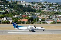 Aeroporto internacional de Wellington fotografia de stock