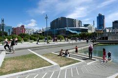 Lagoa do beira-rio de Wellington Imagens de Stock Royalty Free