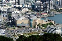 Arquitectura da cidade de Wellington Fotografia de Stock Royalty Free
