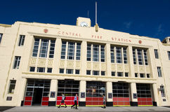 Parque de bomberos de Wellington Foto de archivo libre de regalías