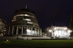 Wellington - edificio del parlamento Fotos de archivo libres de regalías