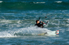 Kitesurf Image libre de droits