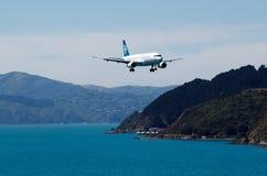 Air New Zealand surfacent Photographie stock libre de droits