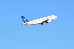 Air New Zealand surfacent Image libre de droits