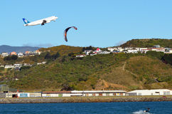 Aéroport international de Wellington Photos libres de droits