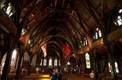 Vieille église de St Pauls de Wellington Images stock