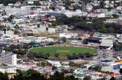 Wellington Cityscape royaltyfria foton