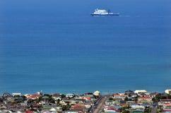 Färja till Wellington Arkivbilder