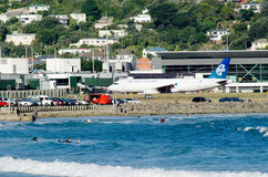 Wellington International Airport Royalty Free Stock Photography