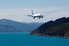 Air New Zealand plane Royalty Free Stock Photography