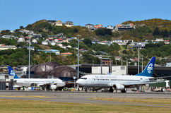 Wellington International Airport Royalty Free Stock Images