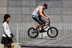 BMX-cykel Arkivfoton