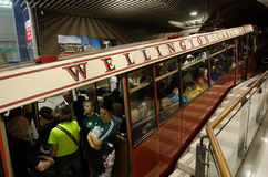 Wellington cable car Royalty Free Stock Photography