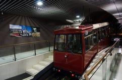 Wellington cable car Stock Photos