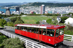 Wellington cable car Stock Photo