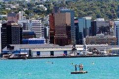 Wellington Cityscape Royalty Free Stock Image