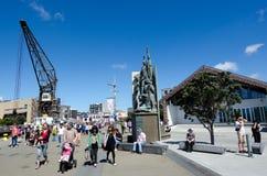 Wellington waterfront Stock Photo