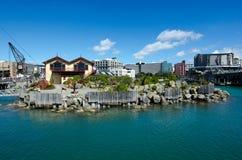 Wellington waterfront lagoon Stock Photos